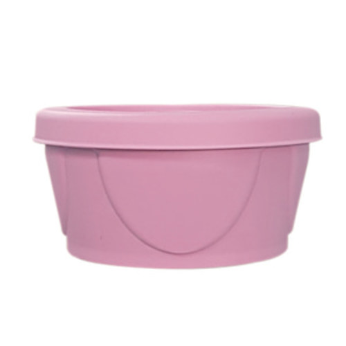 Agafura Yummy Silicone Baby Bowl 120ml A-TYPE(Pink)